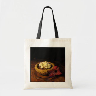 Pumpkin Tart Tote Bags