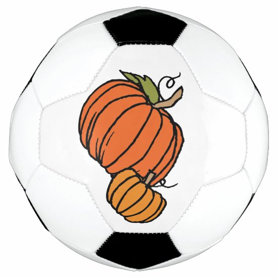 Pumpkin Thanksgiving Family Soccer Ball