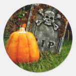 Pumpkin There Classic Round Sticker