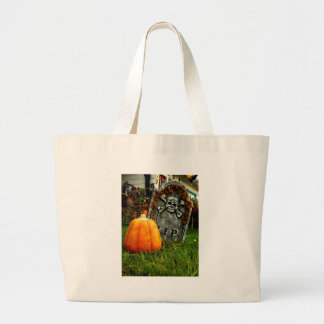 Pumpkin There Large Tote Bag