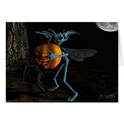 'Pumpkin Thief' Card