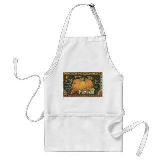 Pumpkin time adult apron