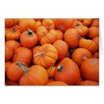 Pumpkin Time Card