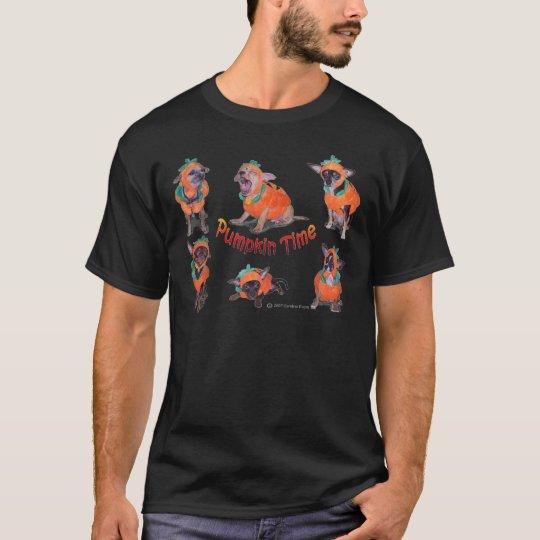 Pumpkin Time Chihuahuas T-Shirt