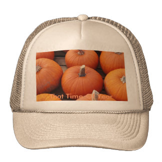 Pumpkin Time Trucker Hat