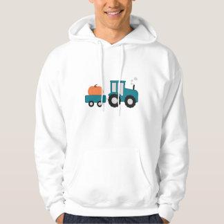 Pumpkin Tractor Hoodie