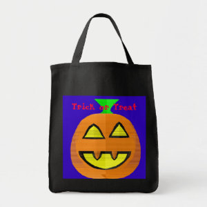 Pumpkin Trick or Treat Bag bag