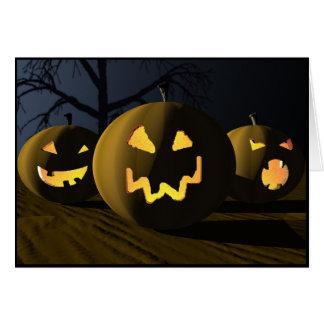 Pumpkin Trio Card