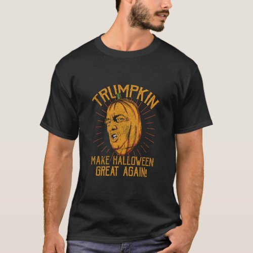 Pumpkin_ Trumpkin Make Halloween Great Again T_Shirt