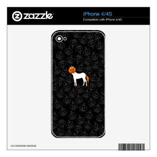 Pumpkin Unicorn Decals For The iPhone 4S