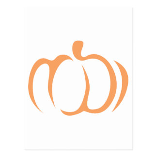 Pumpkin Vegetable Icon Postcard