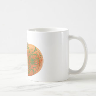 pumpkin vines coffee mug