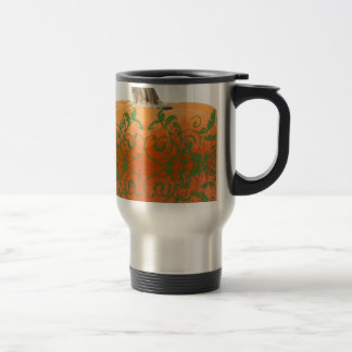 pumpkin vines travel mug