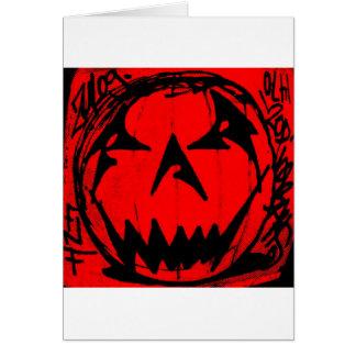 Pumpkin Virus Card