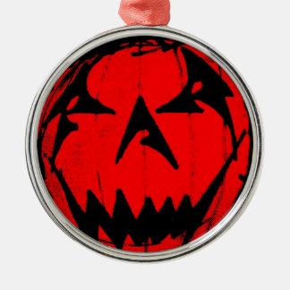 Pumpkin Virus Metal Ornament