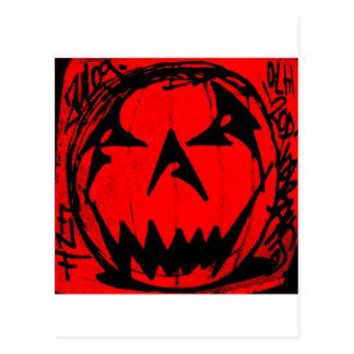 Pumpkin Virus Postcard