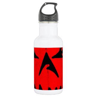 Pumpkin Virus Stainless Steel Water Bottle