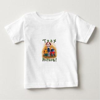 Pumpkin Visits Baby T-Shirt