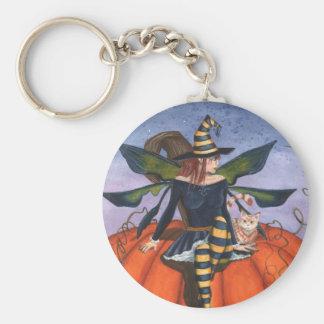Pumpkin Watcher Keychain