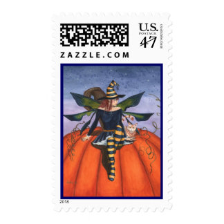 Pumpkin Watcher Stamp