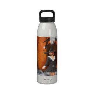 Pumpkin Witch Drinking Bottles