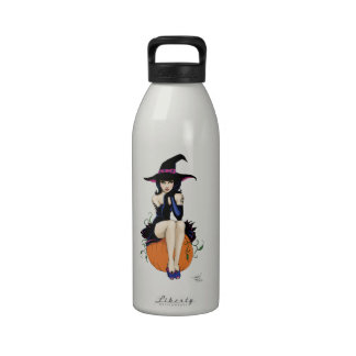 Pumpkin Witch Drinking Bottle