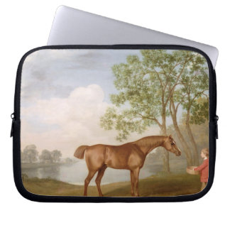 Pumpkin with a Stable-Lad, 1774 (oil on panel) Laptop Sleeve
