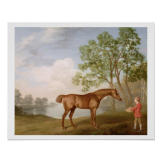 Pumpkin with a Stable-Lad, 1774 (oil on panel) Poster