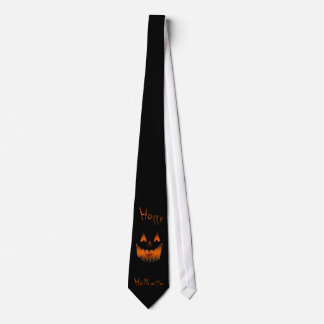 pumpkinface(zoom for accurate font) tie