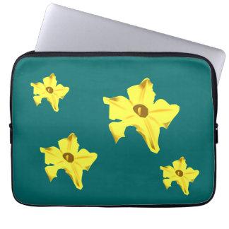Pumpkinflower Sleeve Laptop Sleeve