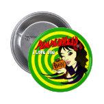 Pumpkinhead Arielle Button