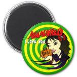 Pumpkinhead Arielle Magnet