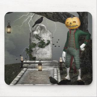 Pumpkinhead Halloween Fantasy Art Mouse Pad