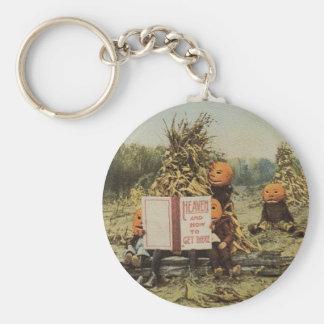Pumpkinhead Kids Keychain