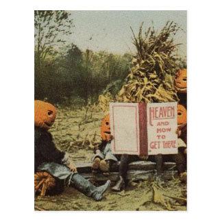 Pumpkinhead Kids Postcard