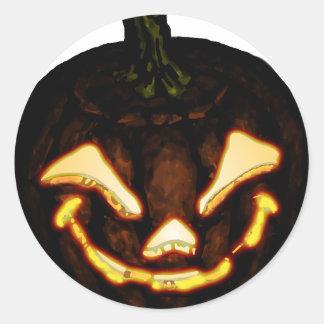 Pumpkinhead Round Sticker