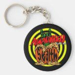 Pumpkinhead Zombie Rock Keychain