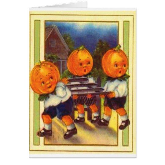 Pumpkinheads Card