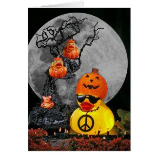Pumpkinheads for Peace! Card