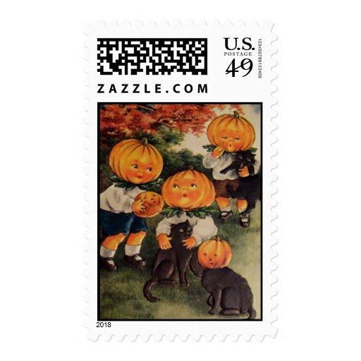 Pumpkinheads Stamp