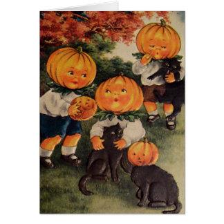 Pumpkinheads Tarjeta De Felicitación