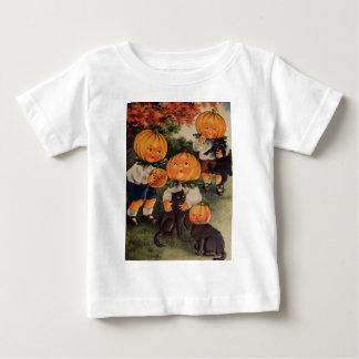 Pumpkinheads (Vintage Halloween Card) Baby T-Shirt