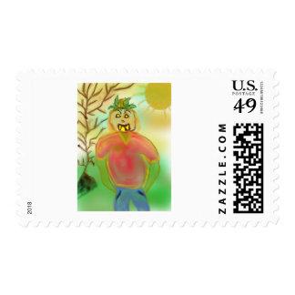 pumpkinman2 postage stamp
