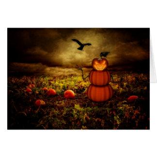 Pumpkinman Card