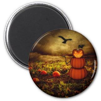 Pumpkinman Fridge Magnet