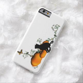 Pumpkins and cat autumn iPhone6 Plus case
