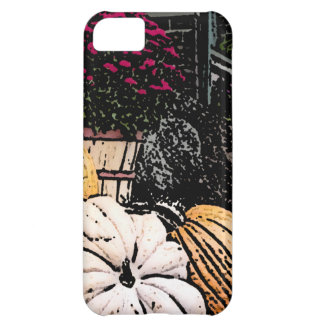Pumpkins and Mum Autumn Picture iPhone 5C Cover