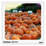 Pumpkins and Mums Wall Sticker