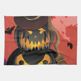 Pumpkins and Red Moon Towels