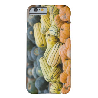 Pumpkins and squash on display at farmer's barely there iPhone 6 case